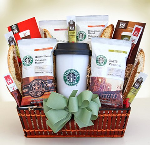 Starbucks On the Go Gourmet Coffee Gift Basket