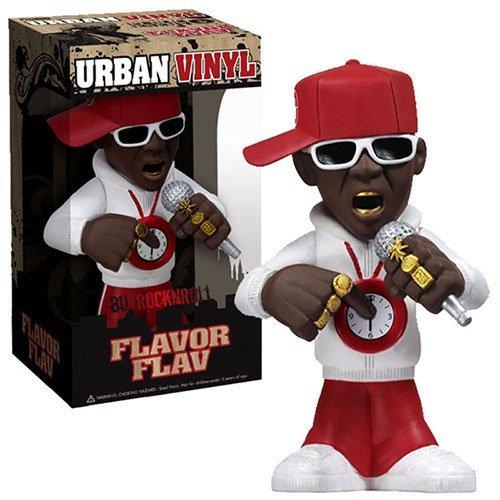 Funko Rocks 6 Inch Urban Vinyl Figure Flavor Flav Public Enemy by Flavor Flav (Flavor Flav Clock Necklace)
