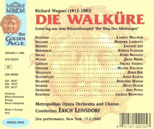 ... , Lauritz Melchior, Julius Huehn, Emanuel List; Erich Leinsdorf