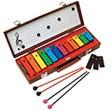 51c09HGTL1L. SL160  Basic Beat BB12B 12 Note Glockenspiel with Case