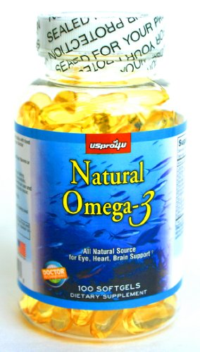 Doctor recommended natural omega 3 fish oil with epa dha for Fish oil brain