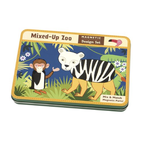 Mixed-Up Zoo Magnetic Design Set