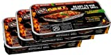 EZ Grill 3-Pack Portable & Disposable Instant Barbeque, Party Size