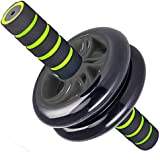 Ab Wheel - Best Ab Wheel Roller for Abdominal Exercise - Perfect Exercise for Home, Gym, And Were You Travel - Color Options - Comes With Knee Supporter - No Hassle 1 Year Guarantee