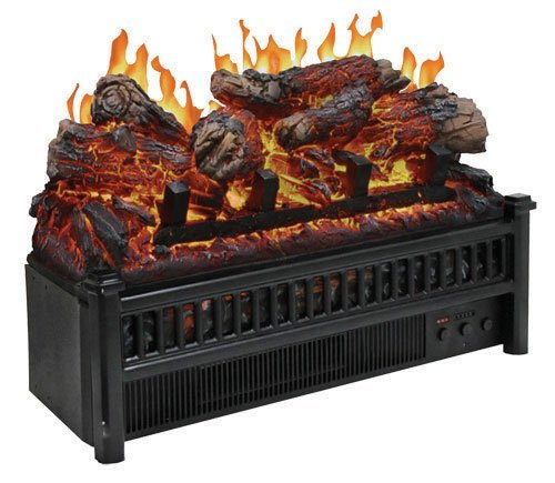 World Marketing Cg Electric Log Set W Heater Glowing Logs, Flames And Heat Built In Heater Provides Up To 5000 Btu'S Provides Realistic Flames As Well And Glowing Ember Bed