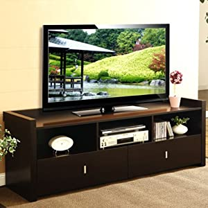 Valenciara Coffee Bean Finish TV Stand