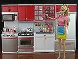 豪華システムキッチンのドリームセット バービー、ジェニー、リカちゃんなど1/6ドール用