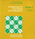 img - for Optimization of Electronic Measurements (Instrumentation for Scientists Series, Module 4) by Christie G. Enke (1974-05-03) book / textbook / text book