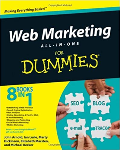 image of web marketing for dummies