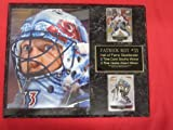Patrick Roy Colorado Avalanche 2 Card Collector Plaque w/8x10 GREAT UP CLOSE MASK Color Photo at Amazon.com
