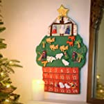 Kubla Crafts-Nativity Fabric Advent C...