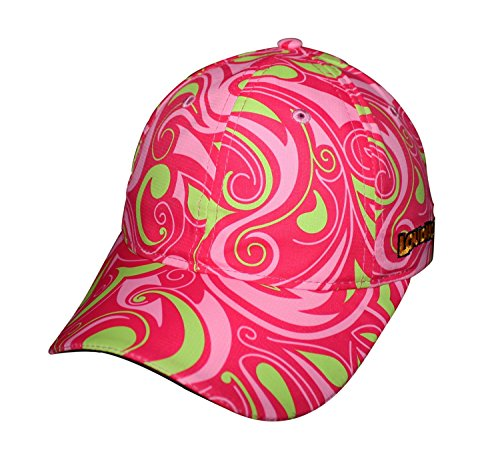 Headsweats Podium Golf Hat with Loudmouth Styling, Cotton Candy,