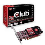 Club 3D CGAX-7758LM4 Eyefinity 4 HD 77750 Graphics Card PCI-e / 2048 MB GDDR5 Memory / Mini DisplayPort / 1 GPU