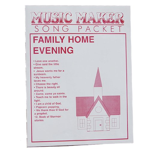 Family Home Evening music for the Music Maker