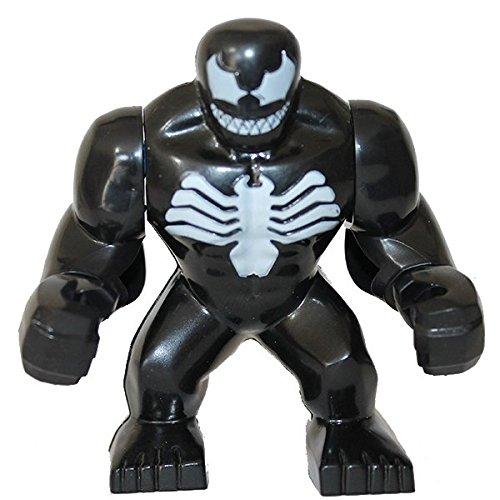 "LEGO Minifigure Compatibili Giant Venom Peter Parker Edward ""Eddie"" Allan Brock Angelo Fortunato Donald Mac Gargan Flash Thompson Norman Osborn Marvel Super Heroes"