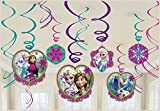 Amscan - Disney Frozen Swirl Decorations