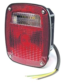 Grote Three-Stud, Peterbilt/Chevrolet/Jeep/GMC Replacement Lamp with Pigtail 50972