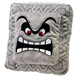 Sanei Super Mario Plush Cushion Series: Thwomp/Dossun