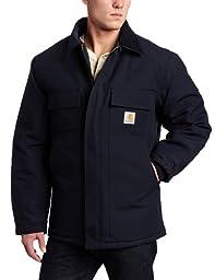 Carhartt Men\'s Arctic Quilt Lined Duck Traditional Coat C003,Dark Navy,Medium