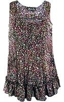 TopsandDresses Ladies Floral Ditsy Vest T-Shirt Top