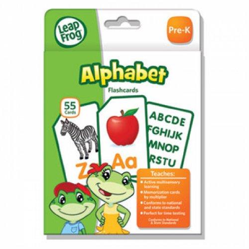 LeapFrog Flash Cards, Alphabet, 4 3/4 x 6, 55 Cards - 1