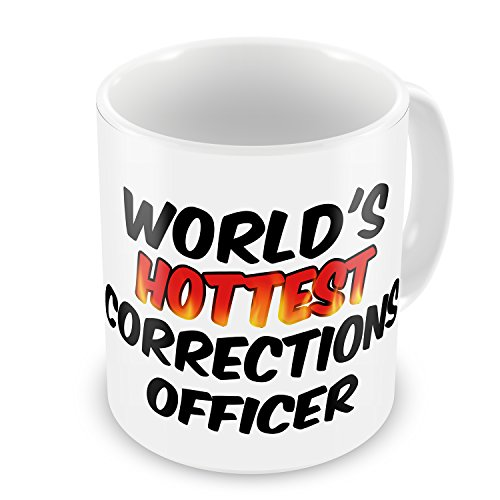 Coffee Mug Worlds hottest Corrections Officer - Neonblond (Corrections Officer Coffee Cup compare prices)