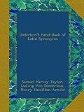 DöderleinS Hand-Book of Latin Synonyms