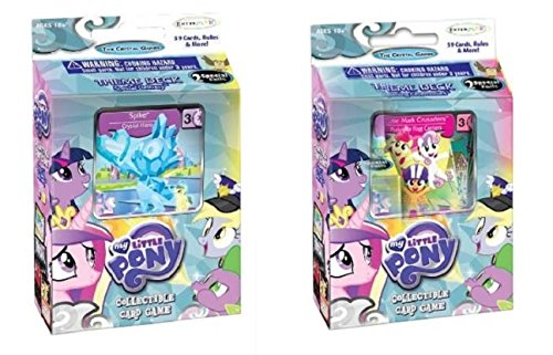 MY Little Pony - The Crystal Games RANDOM Theme Deck - Enterplay - 1