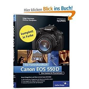 eBook Cover für  Canon EOS 550D Das Kamerahandbuch Ihre Kamera im Praxiseinsatz Galileo Design