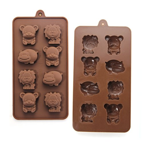 Find Cheap Silicone Animal Chocolate Sweet Candy Soap Ice Cube Tray Mould Mold DIY