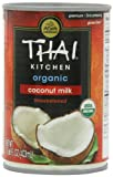 Thai Kitchen Organic Coconut Milk Unsweetened , 13.66-Ounce (Pack of 6)