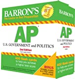 Barrons AP U.S. Government and Politics Flash Cards, 2nd Edition