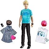 Mattel X2344 - Ken cambia look, 3 stili