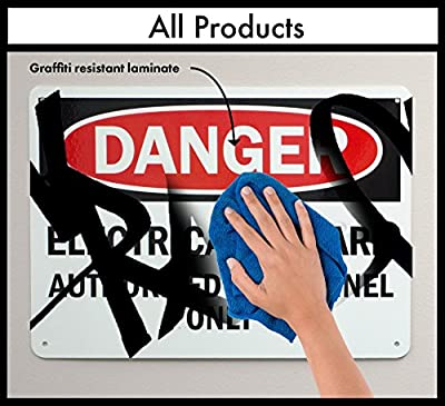 "SmartSign ""First Aid Kit"" Down Arrow, Plastic Sign, 10"" x 14"" by Lyle Signs"