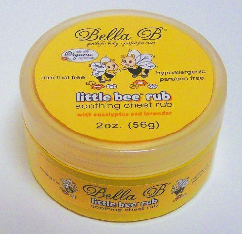 Bella B. Baby Little Bee Rub, Soothing Chest