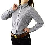 (ポロ ラルフローレン)POLO Ralph Lauren シャツ ワイシャツ レディース ワンポイント ストライプ 長袖[並行輸入品]