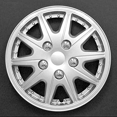 "HS (45343) 13"" Premium Quality Hubcap, (Pack of 4)"