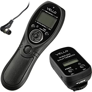 Vello Wireless ShutterBoss Timer Remote (Nikon 10-Pin Connection)