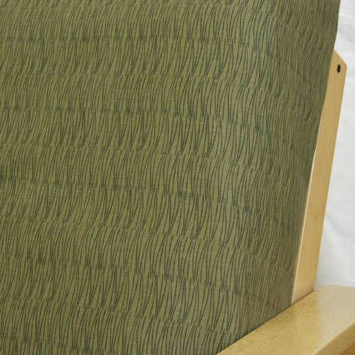 Herringbone Olive Futon Cover Full 5Pc Pillow Set 6 front-955338