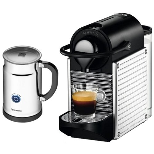 pixie nespresso machine bundle from nespresso from coffee. Black Bedroom Furniture Sets. Home Design Ideas