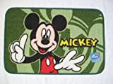 Disney Mickey Mouse Door Entrance Bathroom Kitchen Area Doormat Carpet Mat Rug