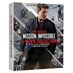Mission: Impossible 6 Movie Collection [4K Ultra HD + Blu-ray]