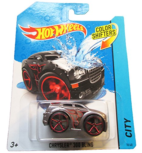 Hot Wheels City 2014 Color Shifters Chrysler 300 Bling 18/48 Red Line Tires