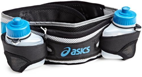 ASICS Unisex Adult Long Haul 2 Bottle Belt (RN1160)