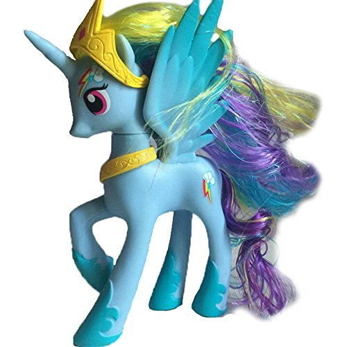Colorful Cute Princess Little Horse toy Action Figure Great Gift for Boys and Girls by New Brand (My Little Pony Equestria Girl Costume)