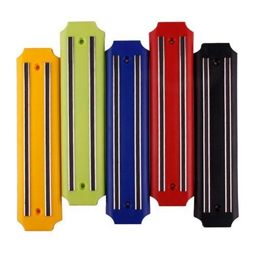 Wall Mount Magnetic Knife Storage Holder Rack Strip Utensil Kitchen Tool Black