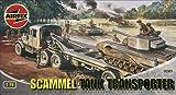 Airfix A02301 Scammel Tank Transporter 1:76 Scale Series 2 Plastic Model Kit