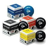 4x Dunlop Squash Balls MIXPACKAGE