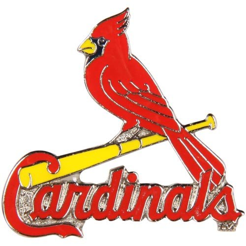 MLB St. Louis Cardinals Logo Pin at Amazon.com
