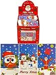 12 x Mini Christmas Notepads